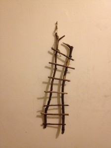 "twigs, glue 6"" x 20"""